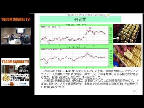 独自の金取引システム検討へ/金価格年末から来年初めに1,300ドルに【TOCOM SQUARE TV 2017/11/27】