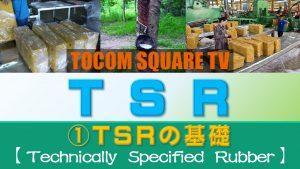 Part.1 TSRの基礎【TSR(技術的格付けゴム)取引のポイント】